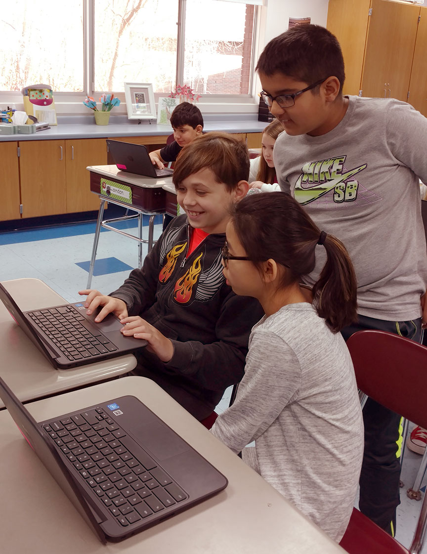 Implementation of Chromebooks A Success at Orange Schools