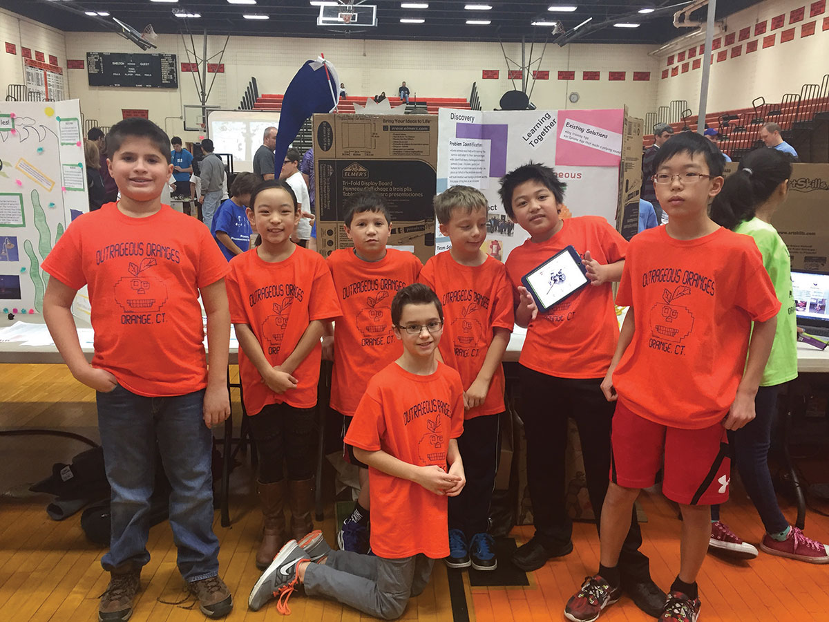Peck Place LEGO Team Competes