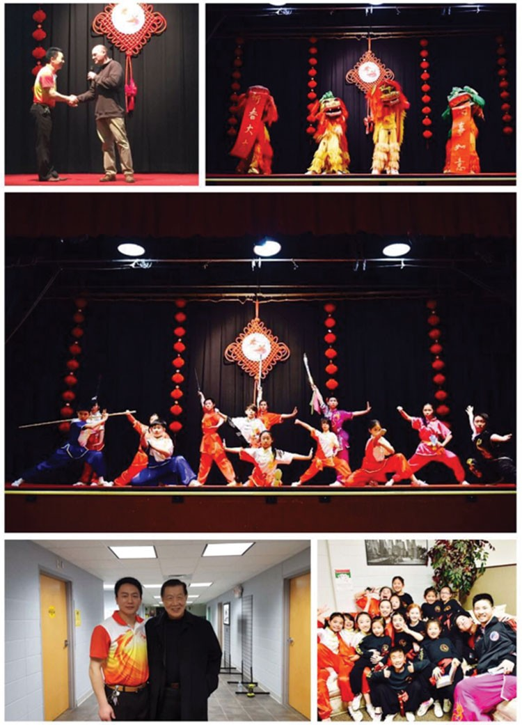 Wu Dang Kungfu Academy Celebrated Lunar Chinese New Year And Its 10th Anniversary