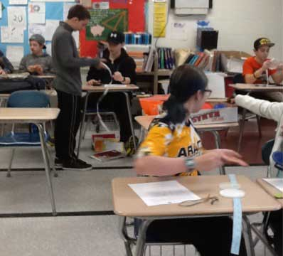 Amity Middle School Orange Pi Day