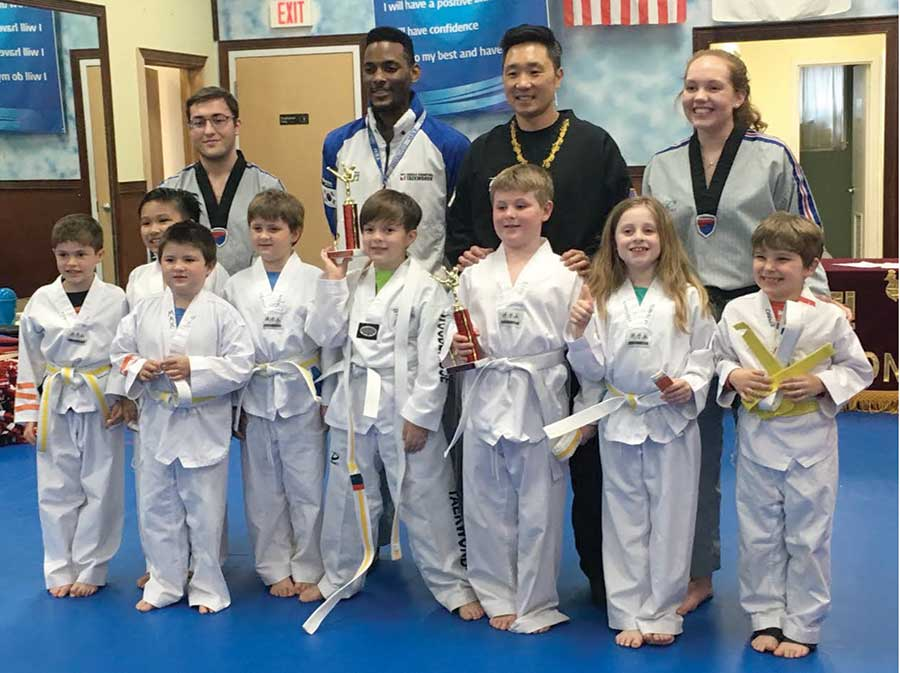 Race Brook School Taekwondo Students Pass!