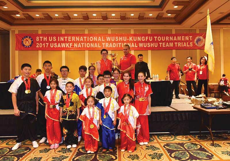 Wu Dang Kungfu Academy Won Grand Champion at the 8th International Wushu/Kungfu Tournament