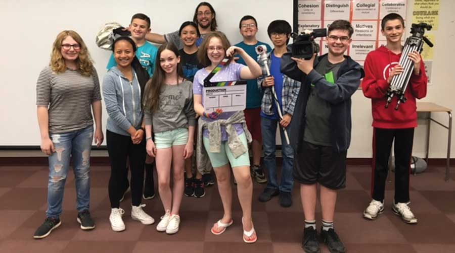 Amity Middle School Orange Video Production Club