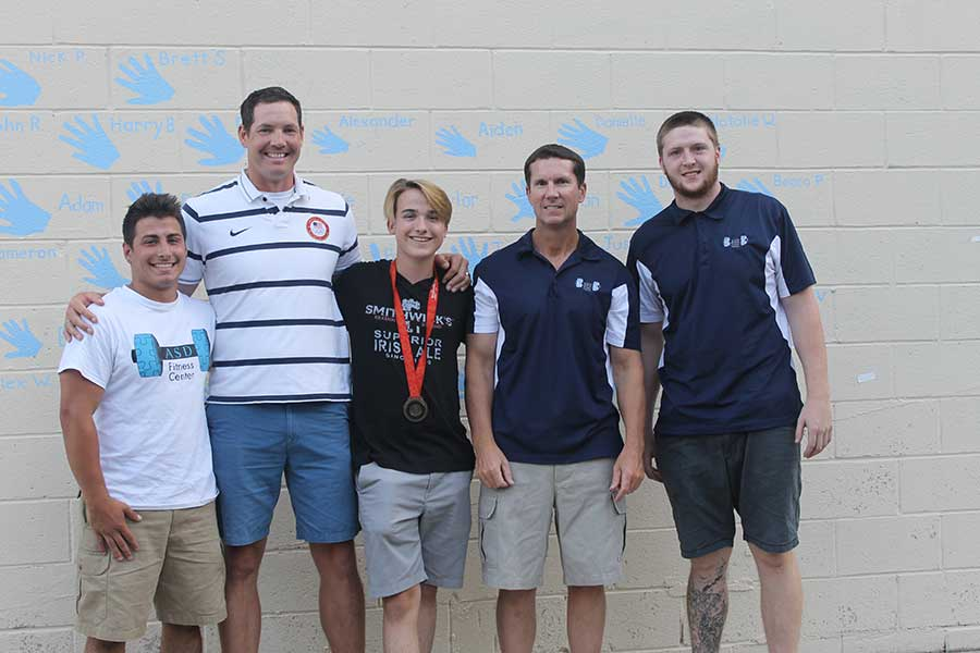Special Olympians Celebrated with Visit by Olympian Athlete