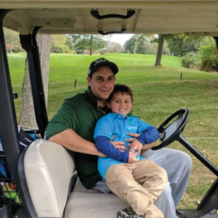 "Four Year Old ""Tees Off for Turkeys"""