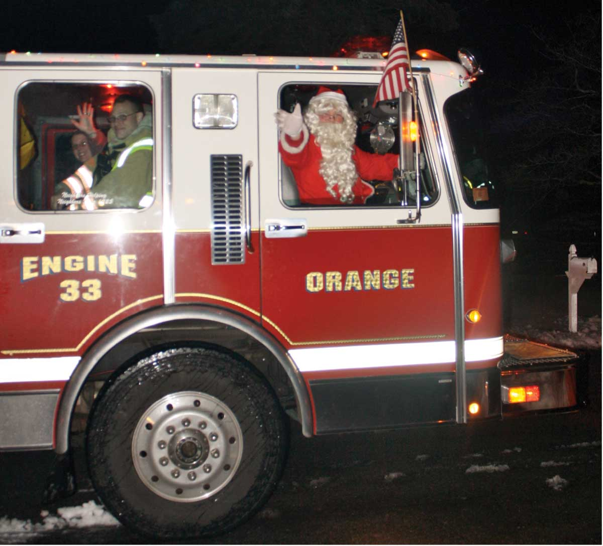 Orange Vol. Fire Dept. Santa's Helper 2017 Is Here!