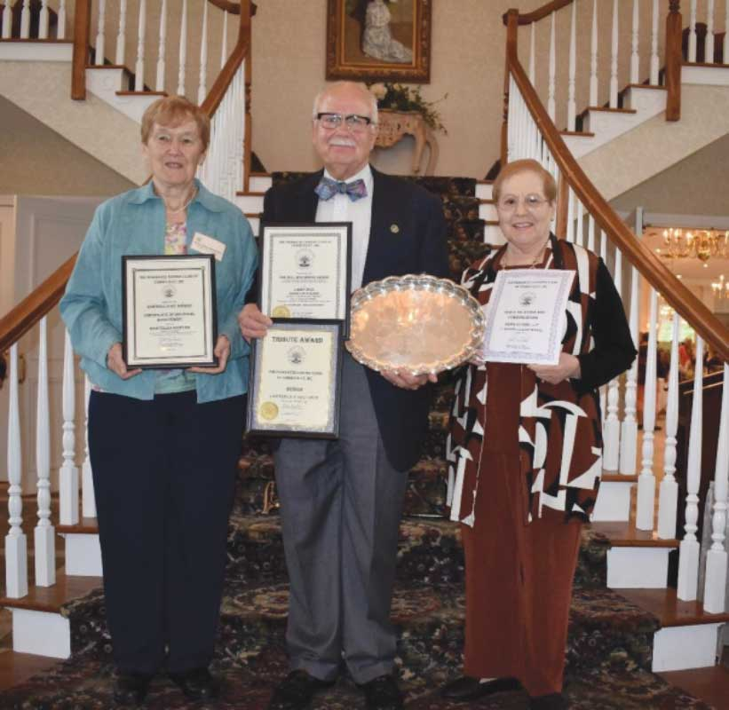 Garden Club Wins State Awards