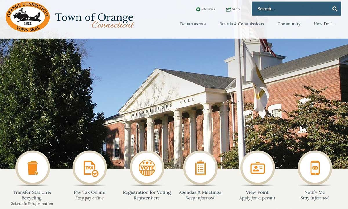 Town Goes Live with New Website