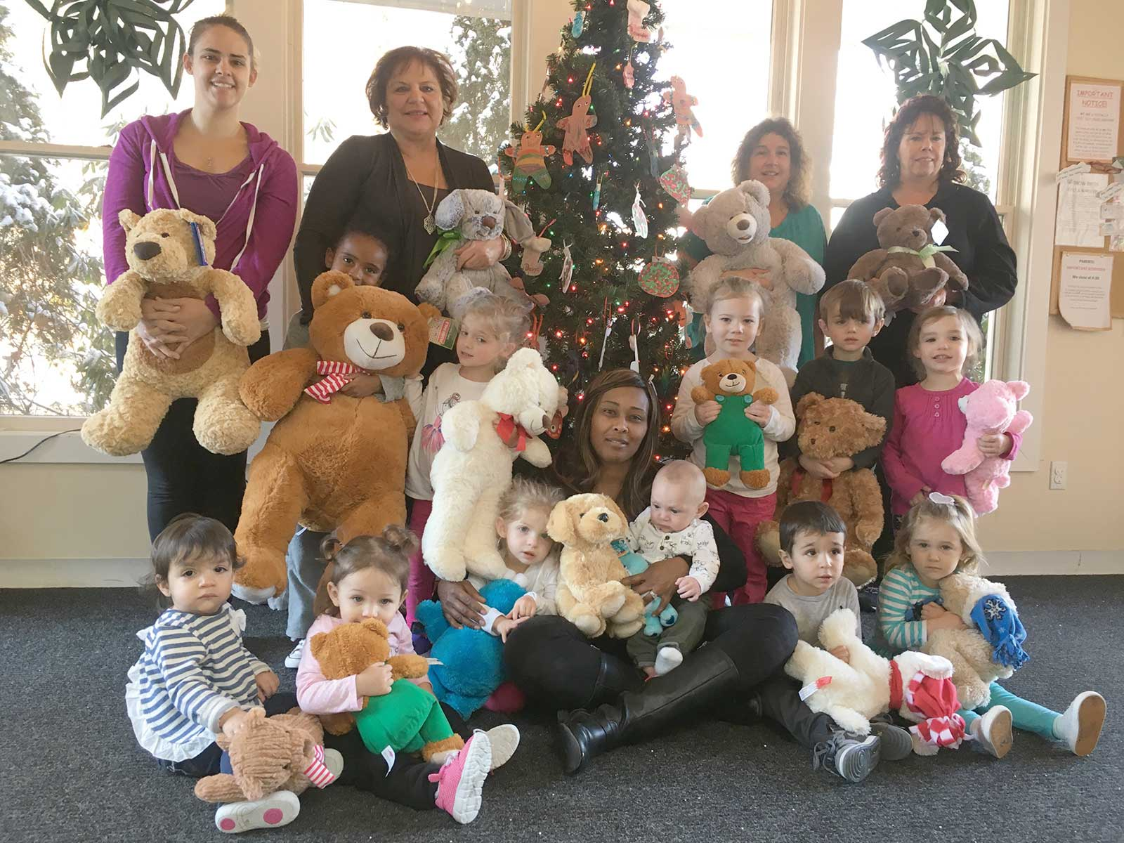 Holly Hill Childcare Collects Bears for Children's Hospital