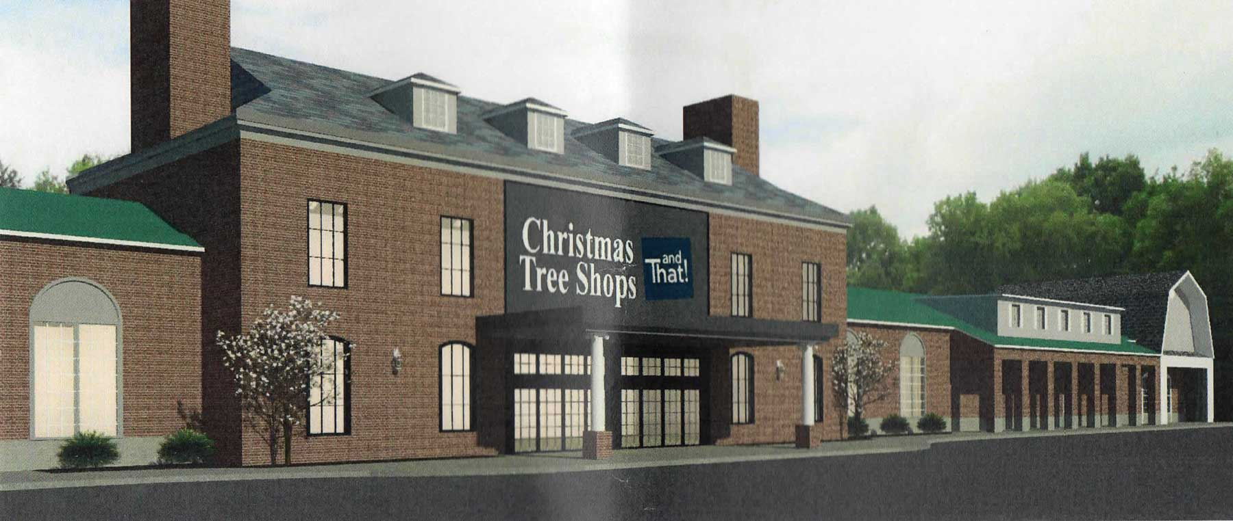 New Look For Christmas Tree Shops