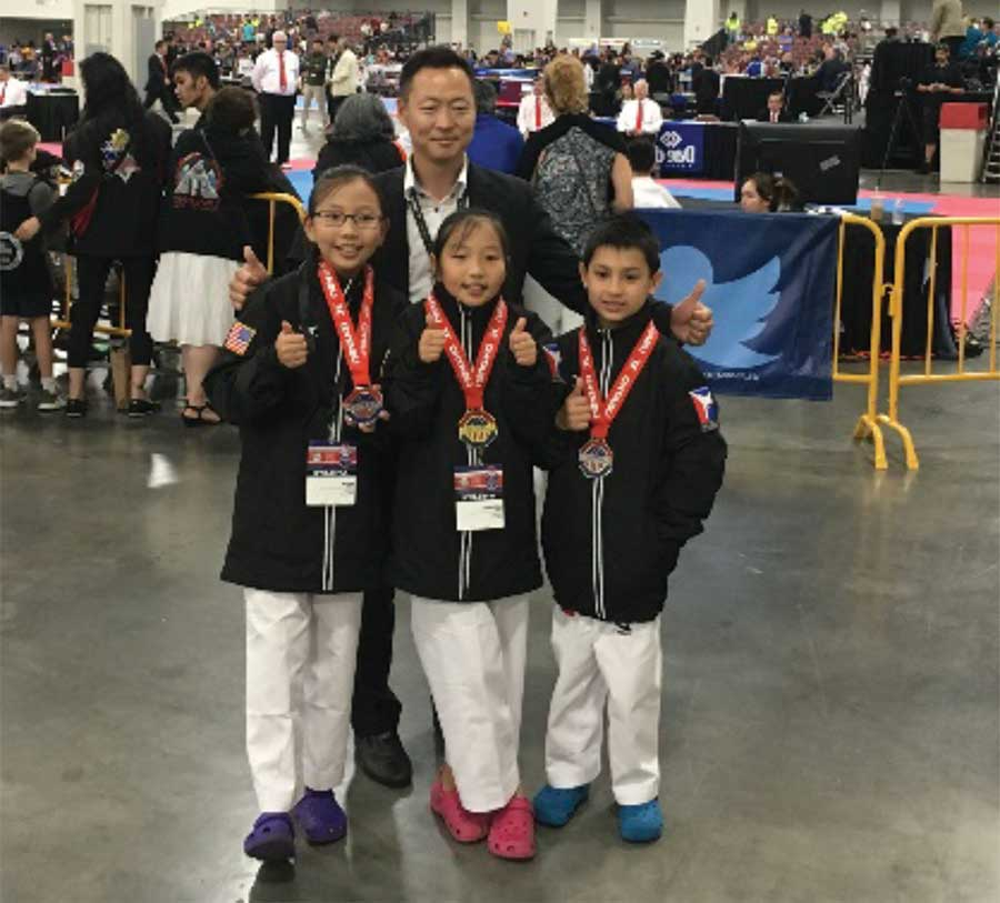 Locals Medal At National Taekwondo Championship