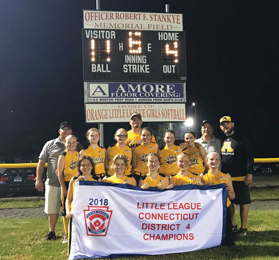 Amity Softball Little League Completes First Season