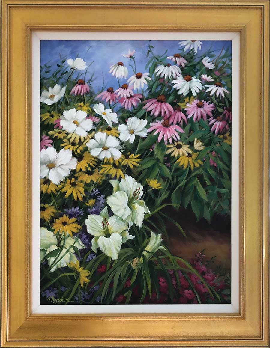 Rembish To Exhibit Acrylic Paintings at Case Memorial Library