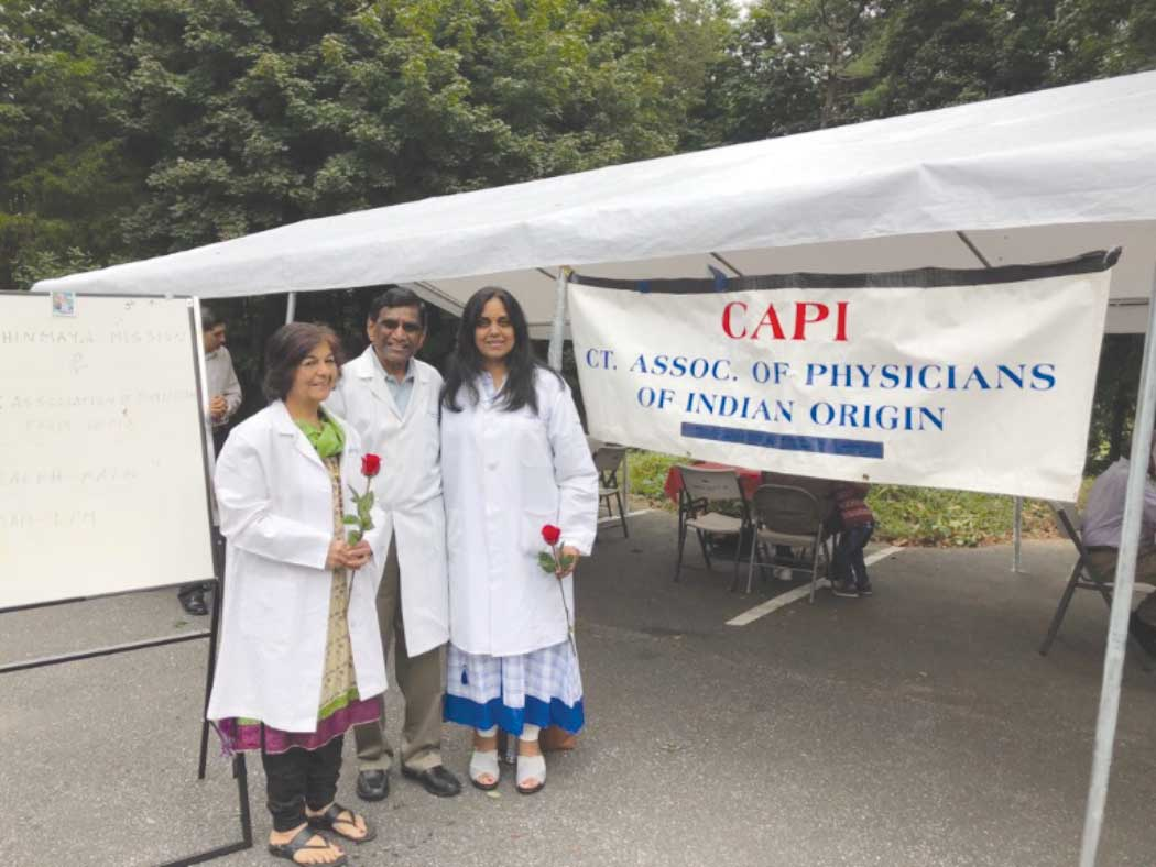 Chinmaya Saraswati Ashram's Second Annual Health Fair & Medical Camp