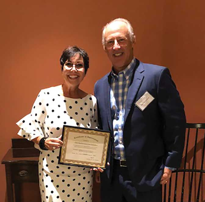 Rep. Staneski Honored & Recognized By CT Radiologists