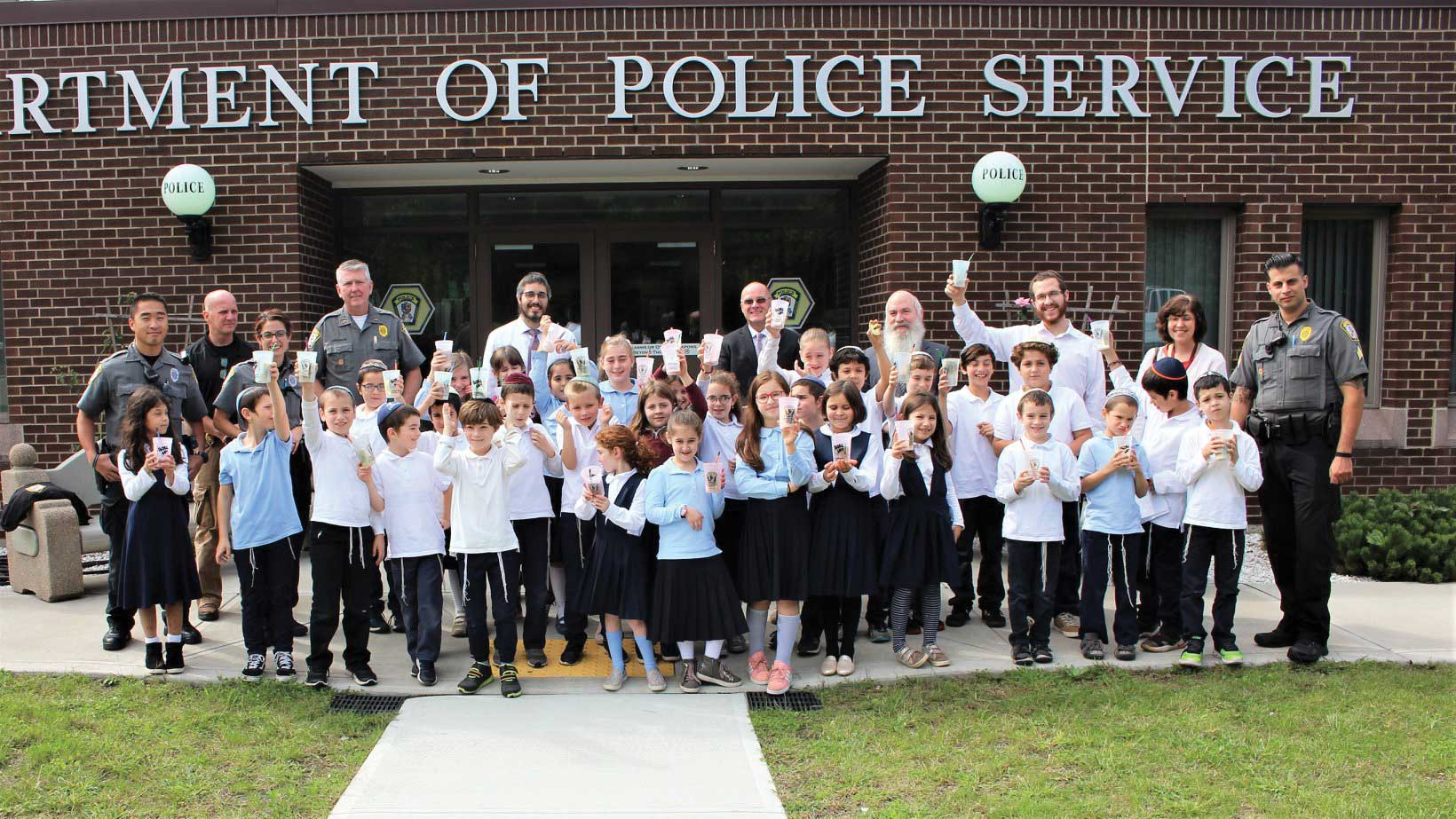 Orange Police Department Hosts 3rd & 4th Grade Students