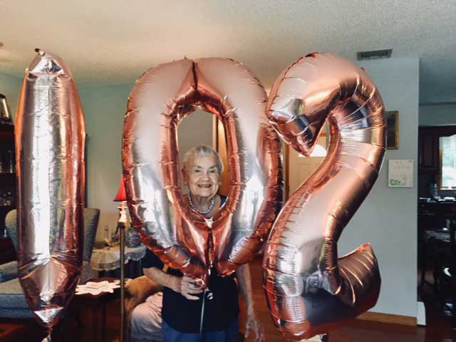 Helen Koziel Celebrates Her 102nd Birthday