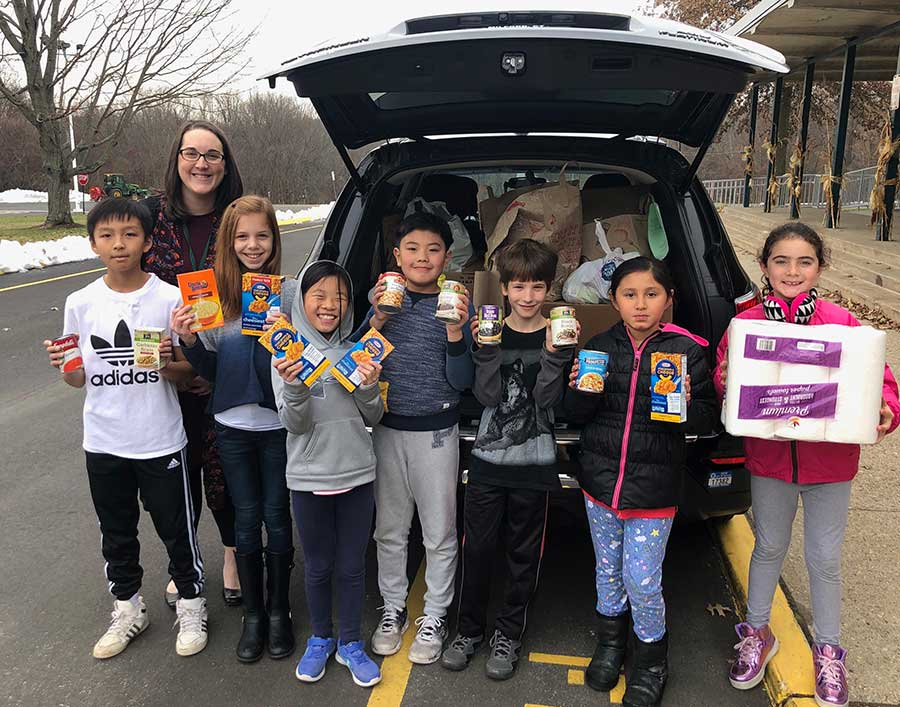 Turkey Hill School Student Council Helping Those In Need