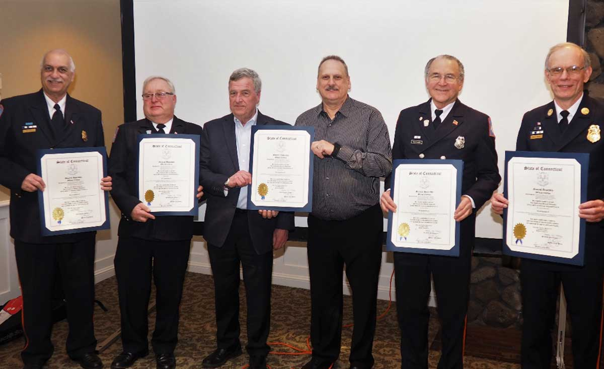 Orange Volunteer Fire Department Celebrates Members' Service At Annual Dinner