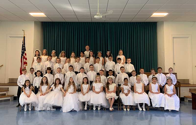 Holy Infant's First Holy Communion Class