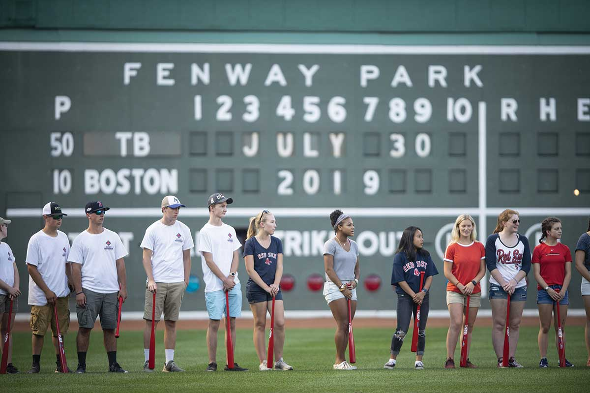 The Red Sox Foundation Presents Amity Student with $1,000 Scholarship