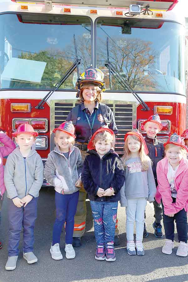 OVFD Welcome Mary L. Tracy Students