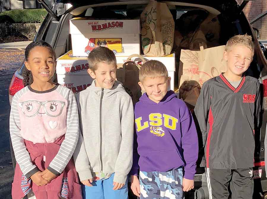 Race Brook School's Families Helping Those in Need