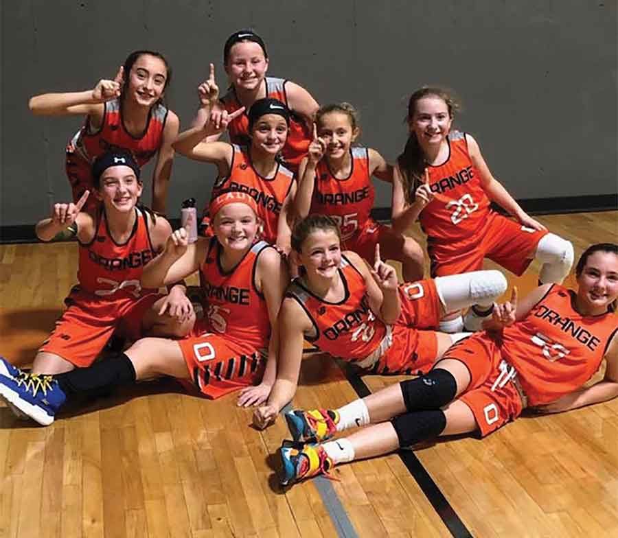 Holy Infant Lady Orange Grade 6 Girls Basketball Team Wins Championship