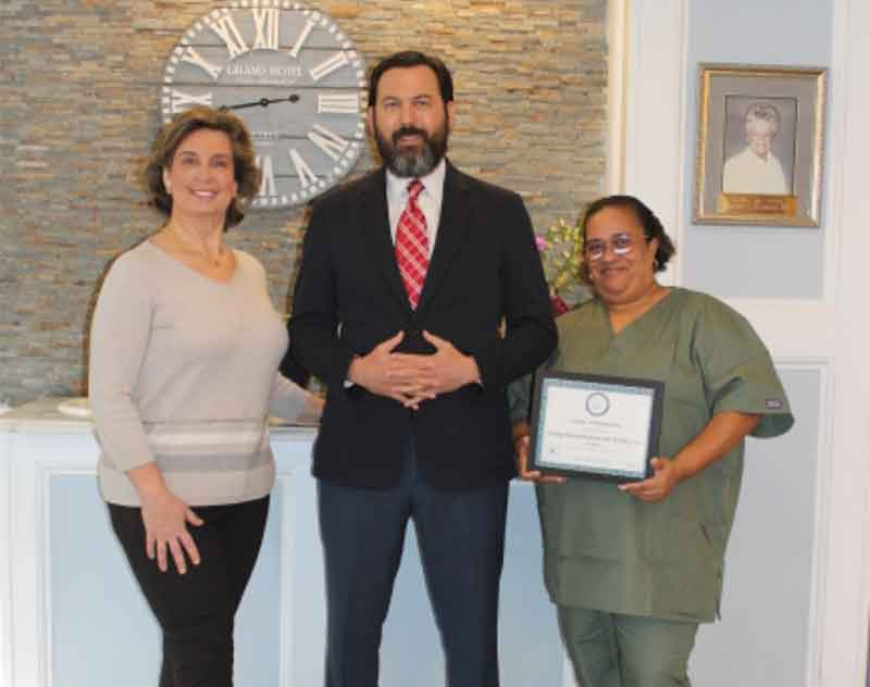 Orange Rehabilitation & Health Care Center Recognized By Wound Care Specialists LLC